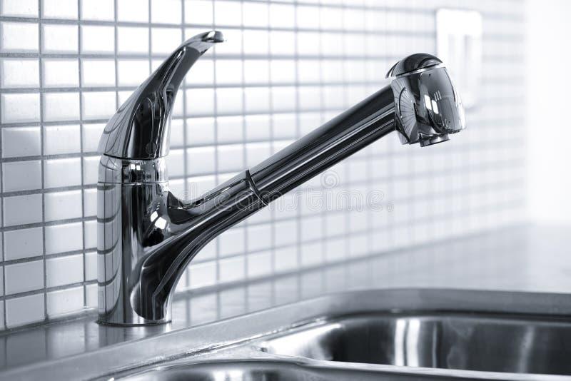 faucet kuchnia fotografia royalty free