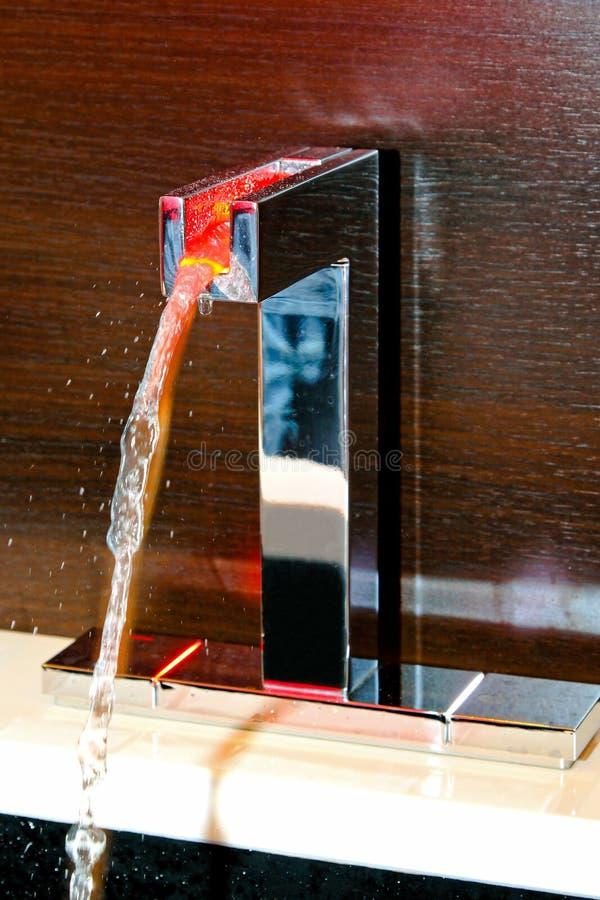 Faucet quente do diodo emissor de luz fotos de stock