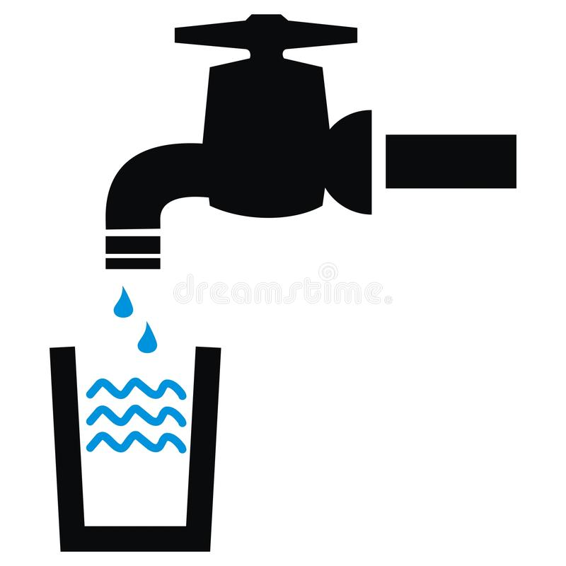 Faucet Symbol Stock Vector Illustration Of Sign Icon 43226265