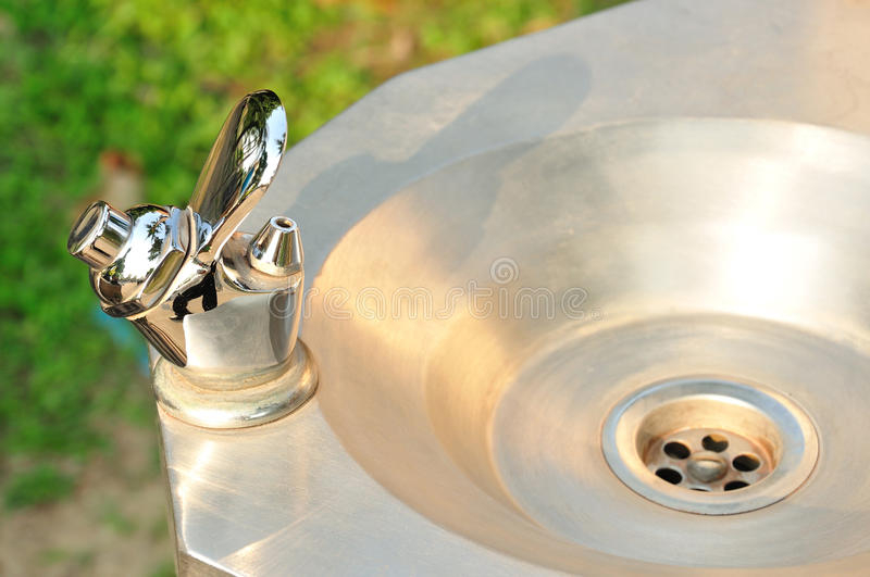 Faucet Water Drinking Fountain Stock Image - Image of ...