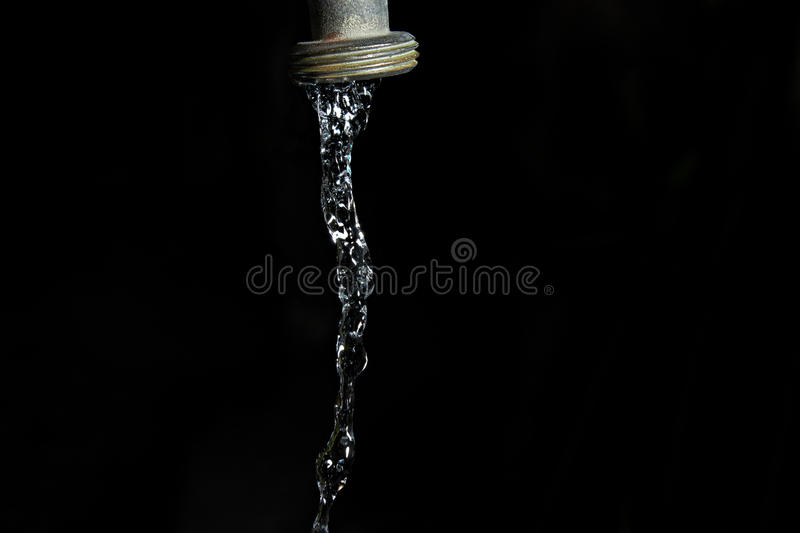Faucet water royalty free stock photography