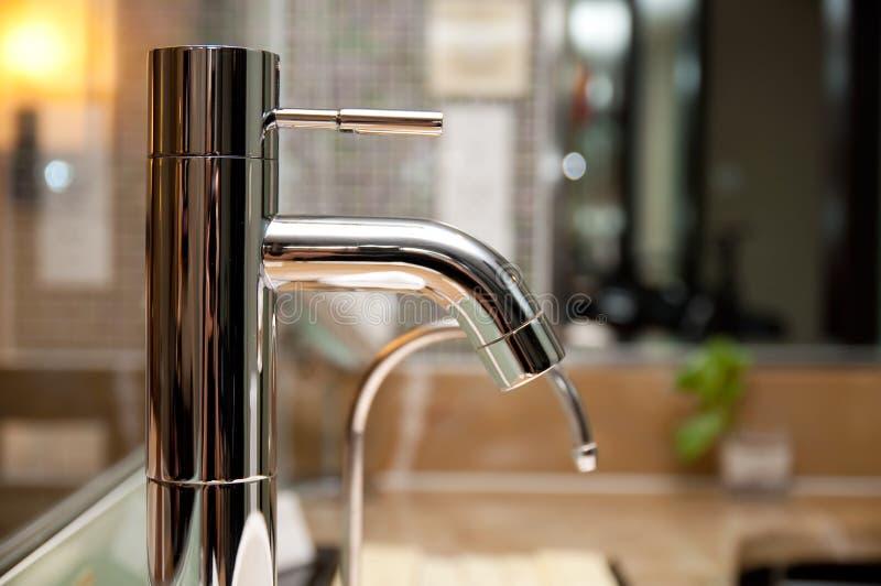 Faucets do banheiro fotos de stock