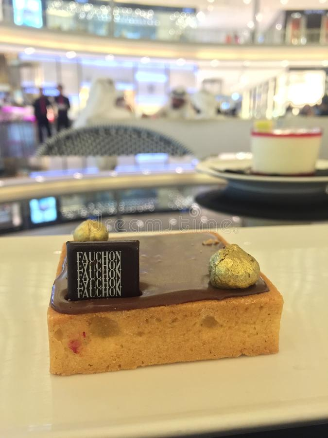 Fauchon cafe royalty free stock images