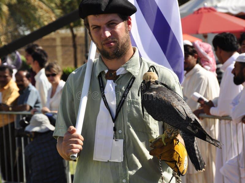 Fauconnier d'Uraguayan image stock