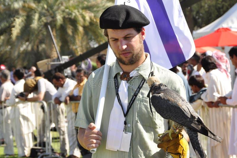 Fauconnier d'Uraguayan image libre de droits