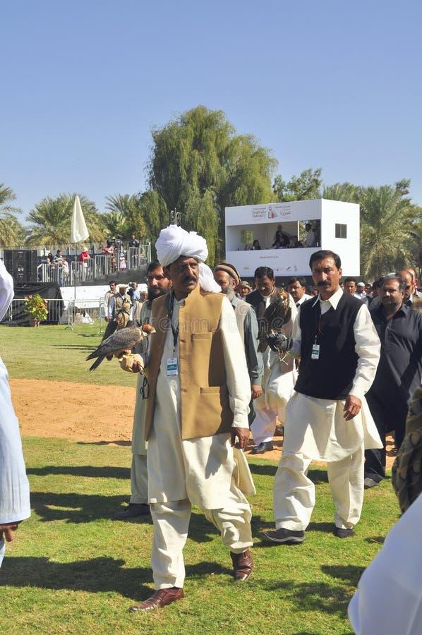 Fauconnier pakistanais image stock