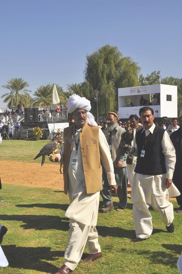 Fauconnier pakistanais photographie stock