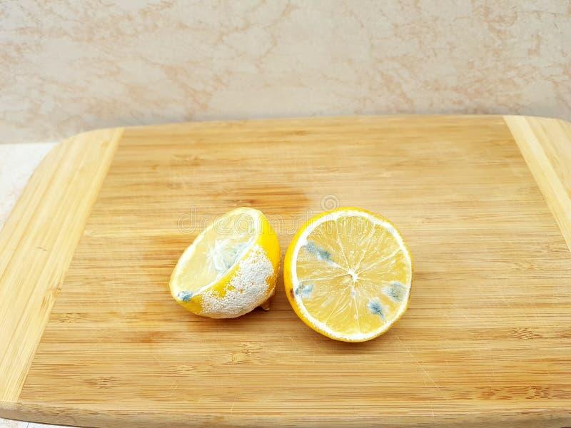 Faule Zitrone stockbild