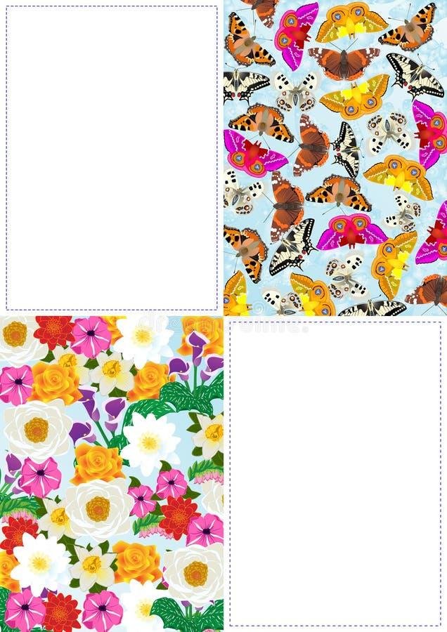 Download Faun flory ilustracja wektor. Obraz złożonej z kolor - 19019485