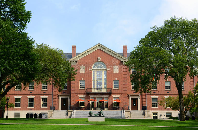 Faunce House, Brown University, Providence, RI, USA. Faunce House is a Colonial Revival style building in Brown University. This building was built in 1903 and stock photos