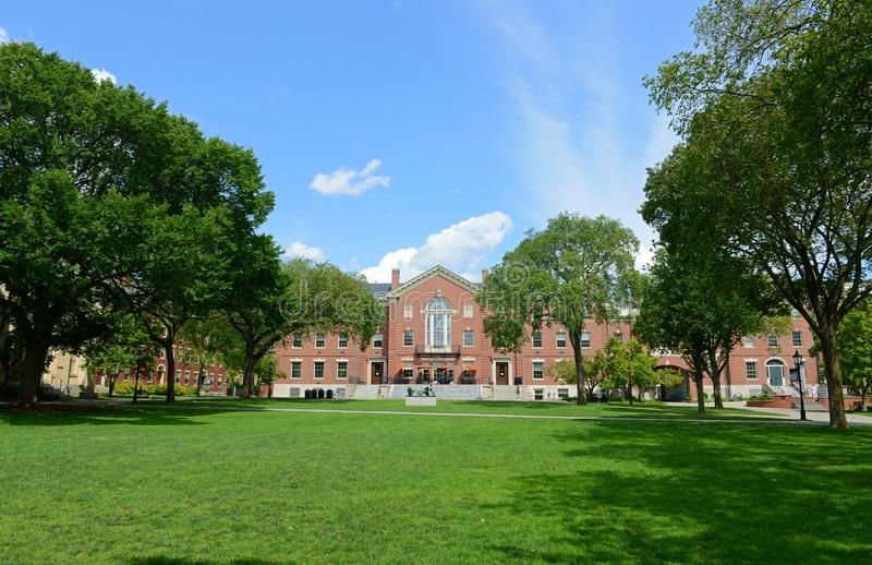 Faunce House, Brown University, Providence, RI, USA. Faunce House is a Colonial Revival style building in Brown University. This building was built in 1903 and royalty free stock photo