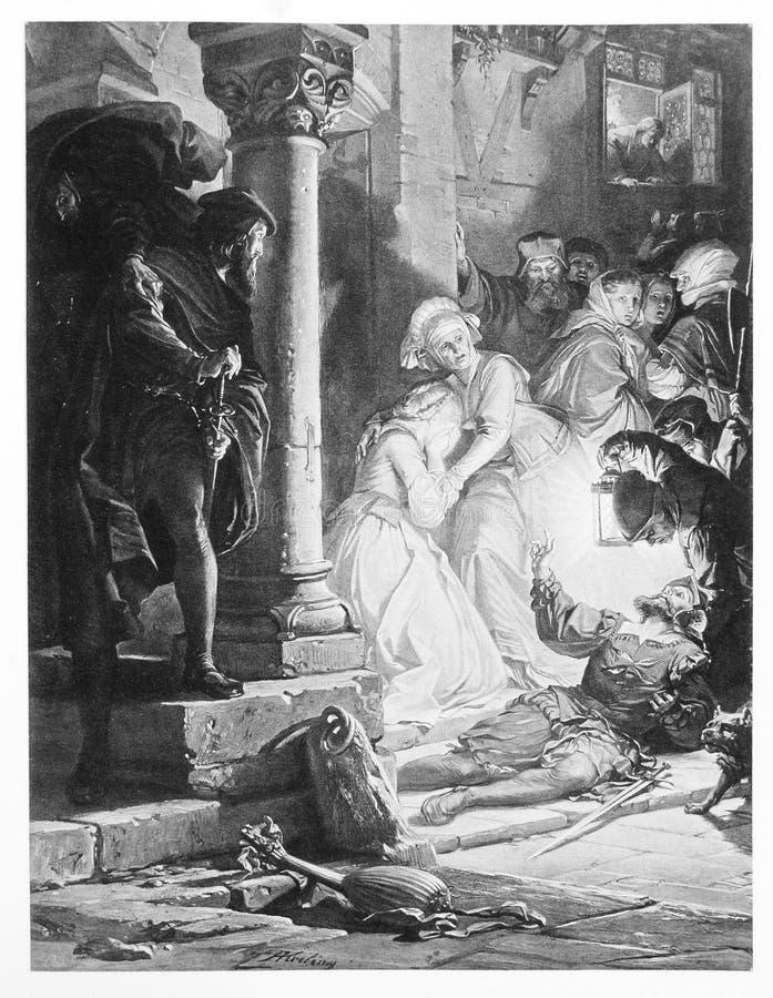 Faust Illustration royaltyfri illustrationer