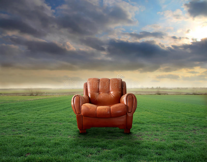 Fauteuil photo stock