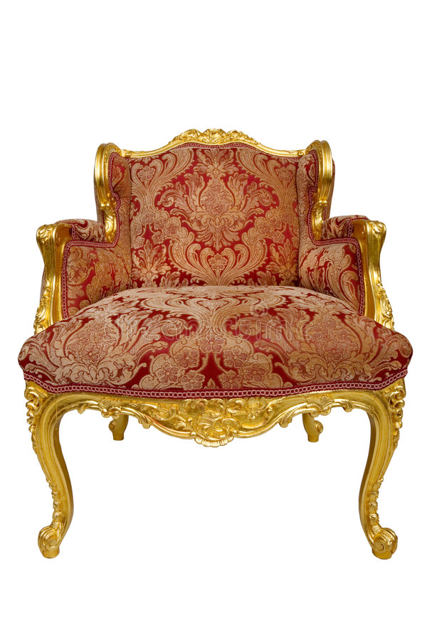 fauteuil antique image stock image du si ge porcelaine 6055705. Black Bedroom Furniture Sets. Home Design Ideas