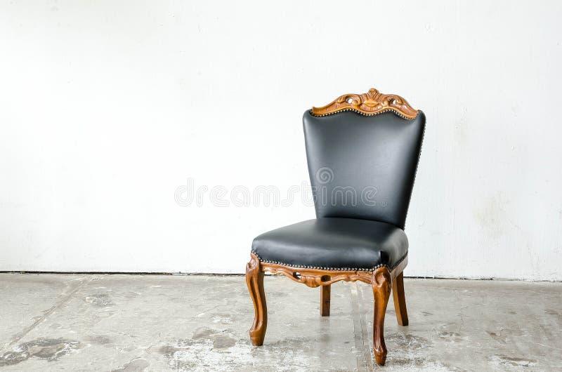 Fauteuil classique luxueux de vintage photos libres de droits