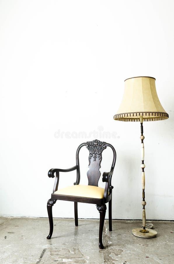 Fauteuil classique luxueux de vintage images stock