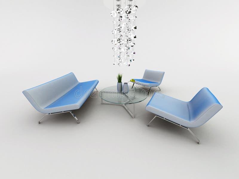 Fauteuil de sofa illustration libre de droits