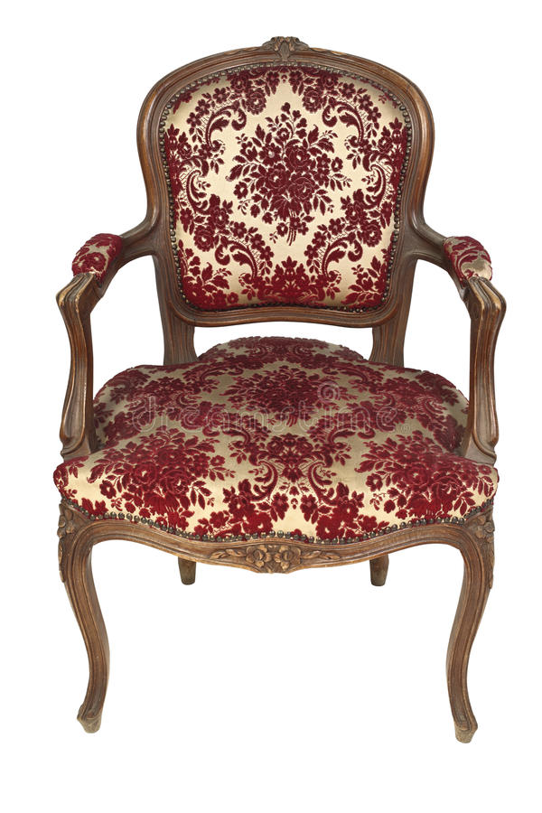 fauteuil italien de cru photos stock image 13923483. Black Bedroom Furniture Sets. Home Design Ideas