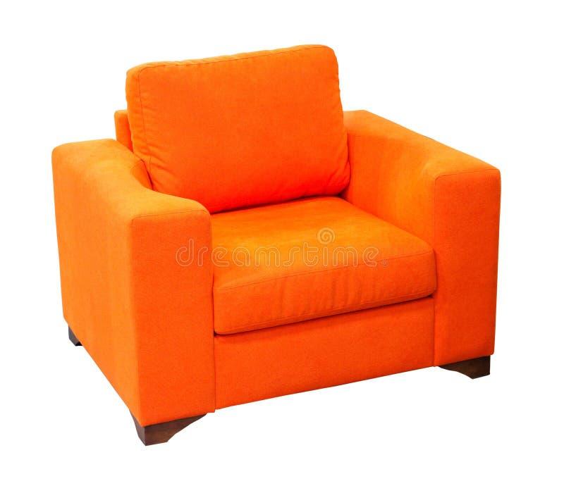 Fauteuil Orange Image Stock Image Du Textile Décoration - Fauteuil orange