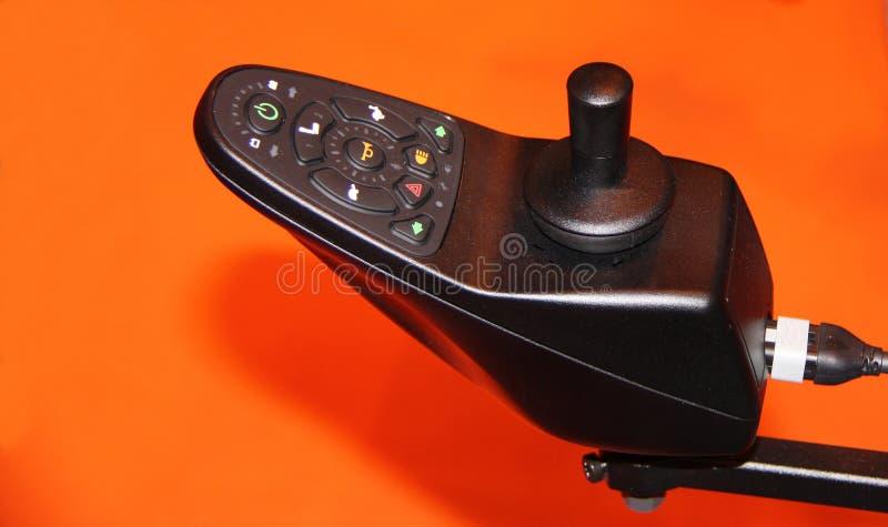 Fauteuil roulant électrique. images stock