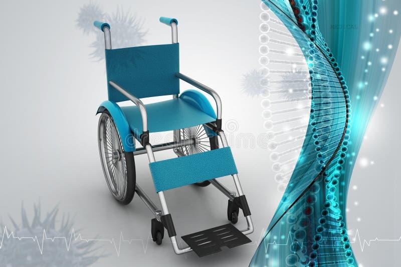 Fauteuil roulant médical illustration de vecteur