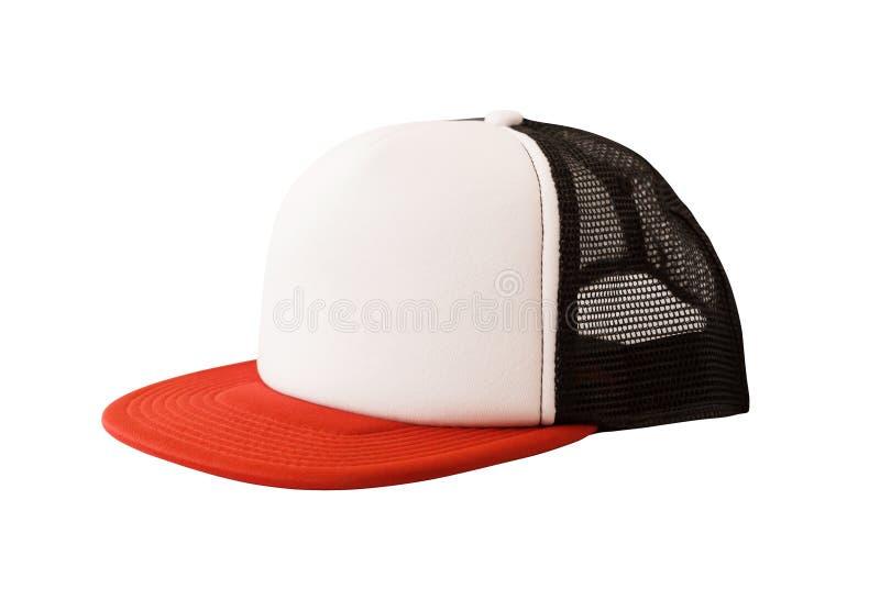 Faux du chapeau de camionneur ou du chapeau de maille image libre de droits
