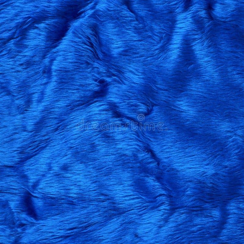 Faux fur texture background. Colored blue faux fur texture background fragment stock images