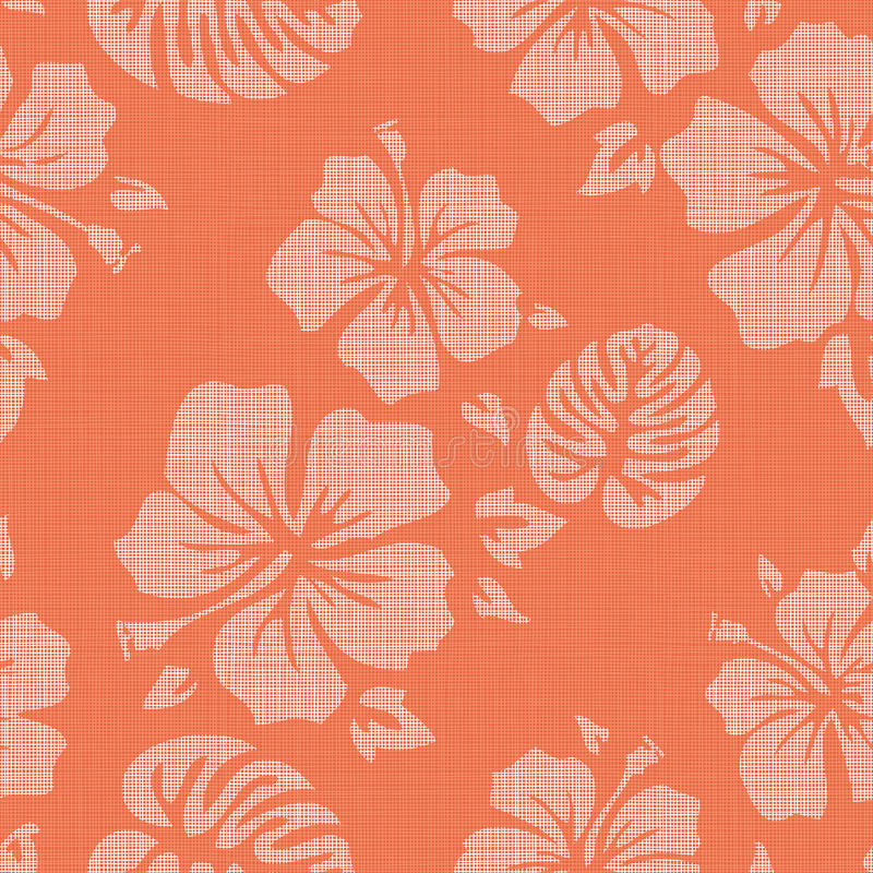 Free Faux Linen Hawaiian Background Pattern Royalty Free Stock Photos - 58545368
