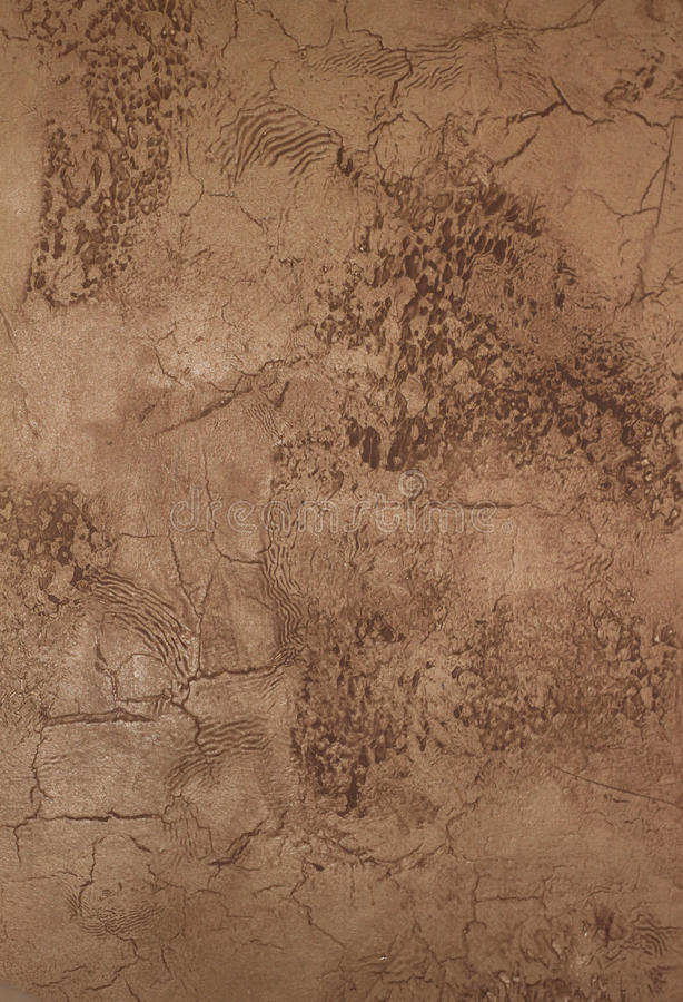 Faux painted stucco wall. Faux painted and textured stucco wall stock image