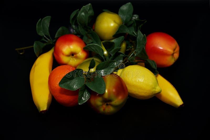 Fauxfrukter och grönsaker arkivfoto