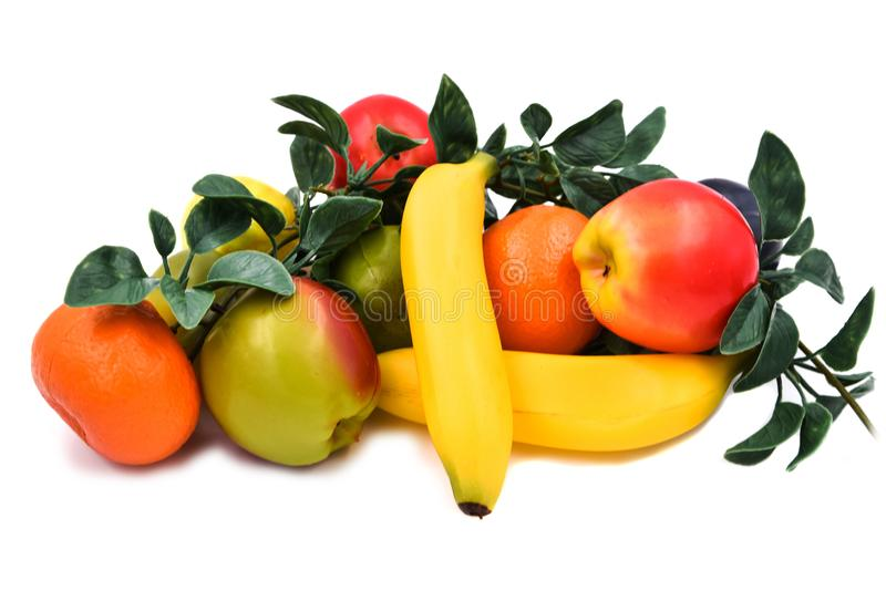 Fauxfrukter och grönsaker royaltyfria foton
