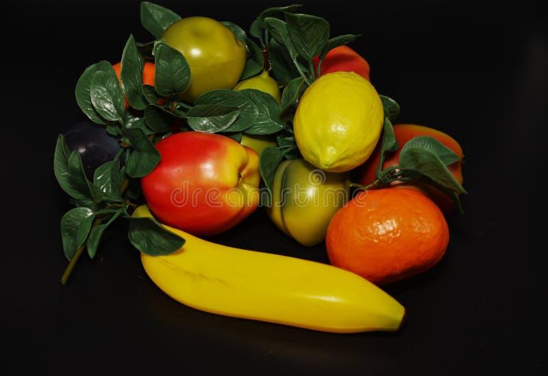 Fauxfrukter och grönsaker arkivbilder