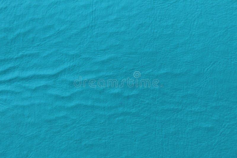 Fauxläder, turkosfärg arkivbild
