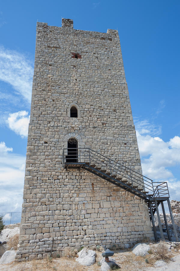 Fava castle. Posada (Sardinia - Italy) stock photography