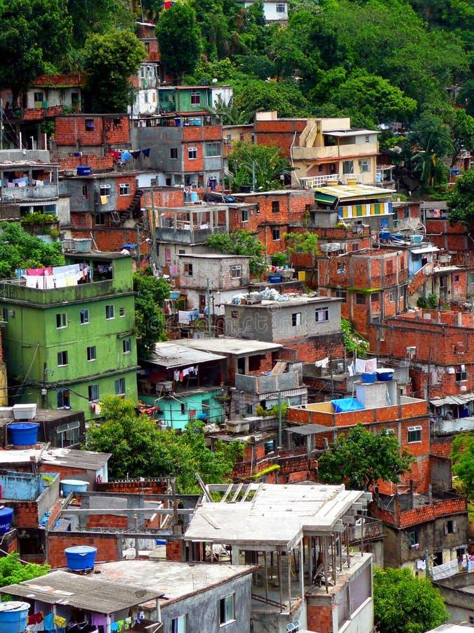 Favela royalty-vrije stock afbeelding