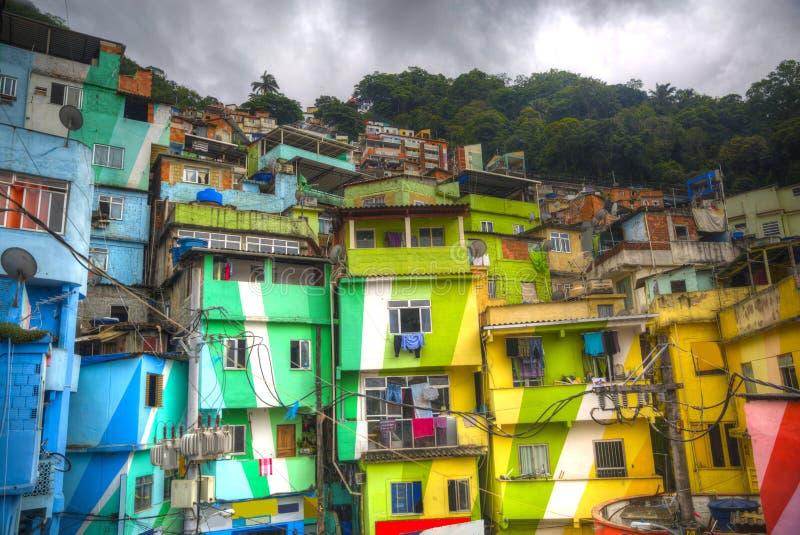 Favela στοκ εικόνες με δικαίωμα ελεύθερης χρήσης