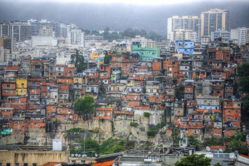 Favela royaltyfri foto
