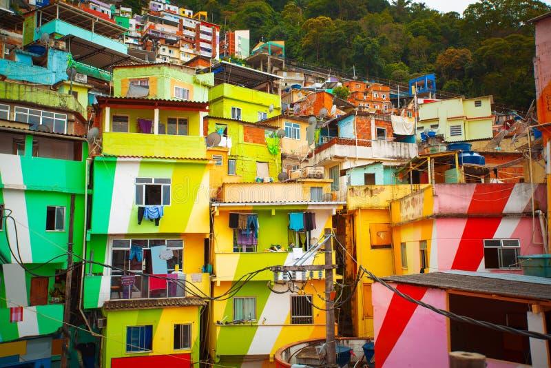 Favela zdjęcie royalty free