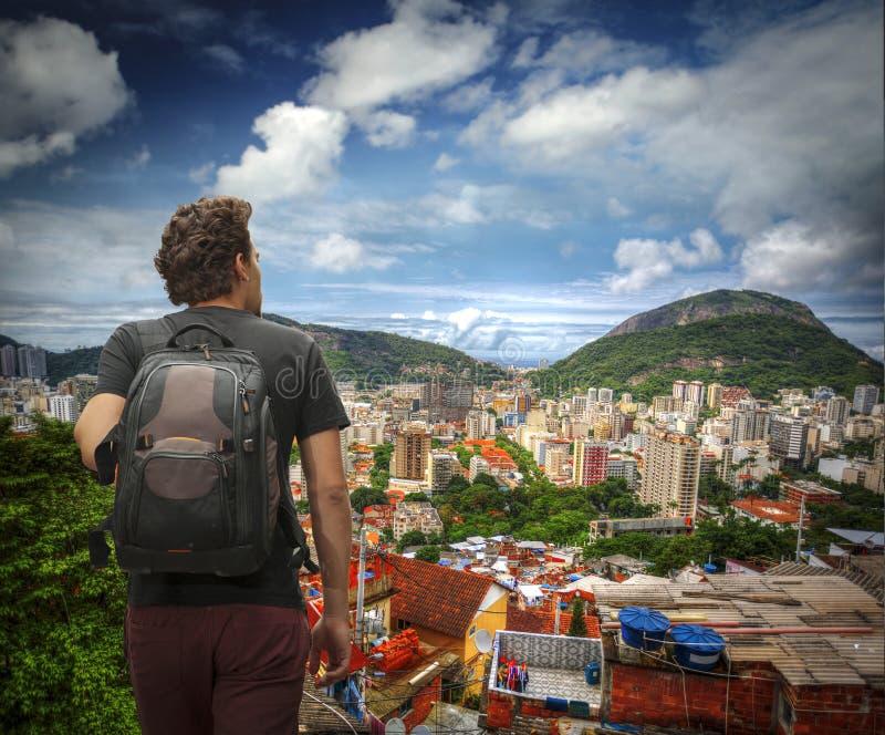 Favela 图库摄影