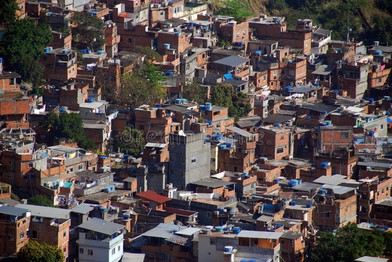 Download Favela stock photo. Image of ipanema, slum, favela, redentor - 9583414