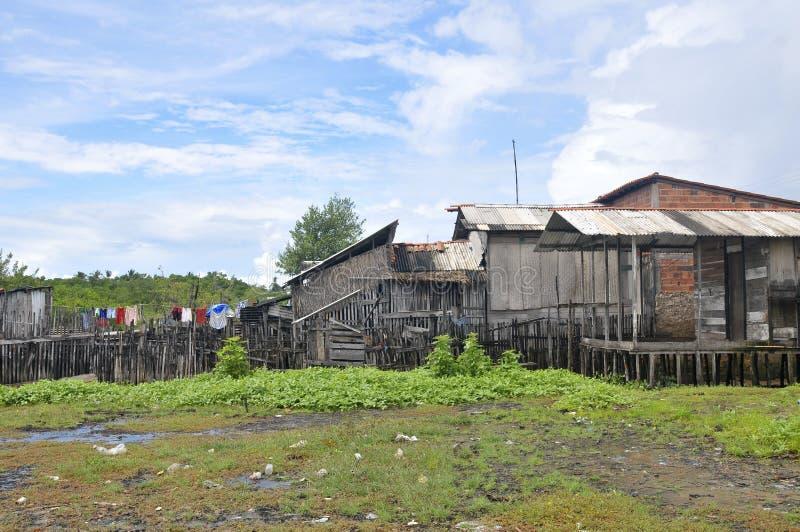 Favela Architektur-Sonderkommandos stockbild