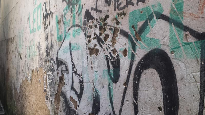 Favela Brésil de Rio De Janeiro photographie stock