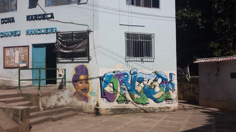 Favela Brésil de Rio De Janeiro photo libre de droits