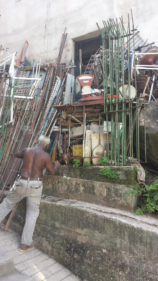 Favela Brésil de Rio De Janeiro photo stock