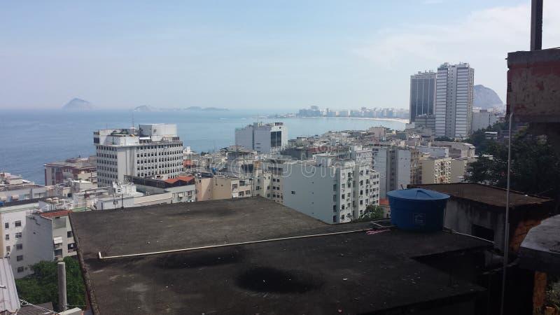 Favela el Brasil de Rio De Janeiro imagen de archivo libre de regalías