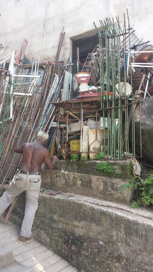 Favela el Brasil de Rio De Janeiro foto de archivo