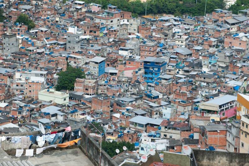 Favela em Rio De janeiro imagens de stock royalty free