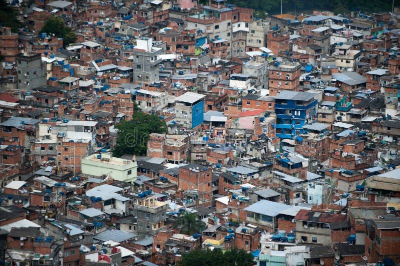 Favela em Rio De janeiro foto de stock royalty free