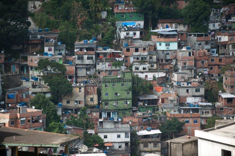 Favela em Rio De janeiro imagem de stock royalty free