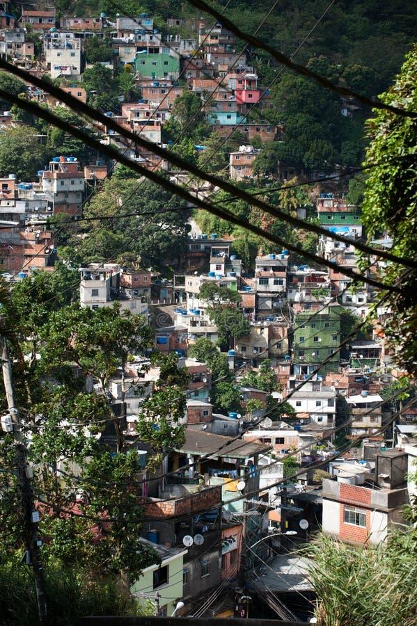 Favela em Rio De janeiro fotos de stock royalty free